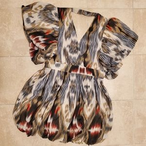 Size Large Anthropologie Fumblin Foe Mini Dress
